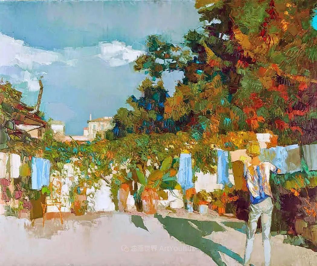 意大利画家尼古拉·辛巴里作品: 色块之美插图31
