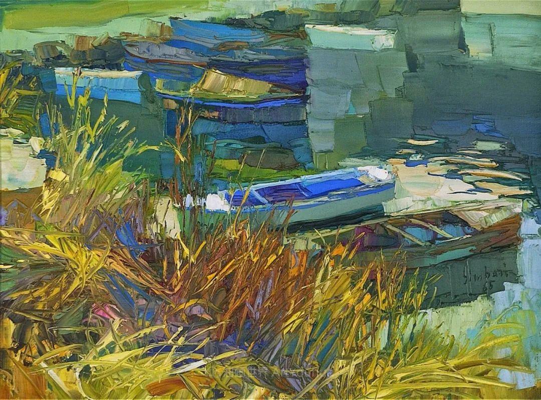 意大利画家尼古拉·辛巴里作品: 色块之美插图33