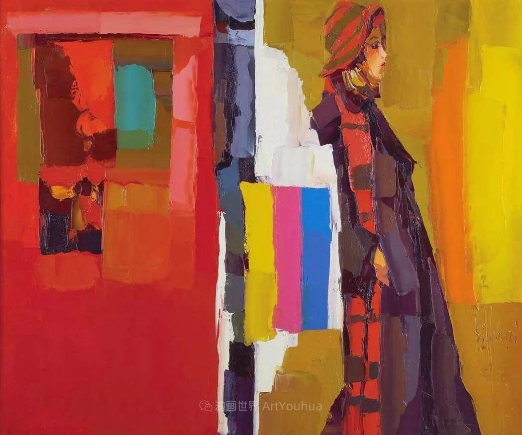 意大利画家尼古拉·辛巴里作品: 色块之美插图37