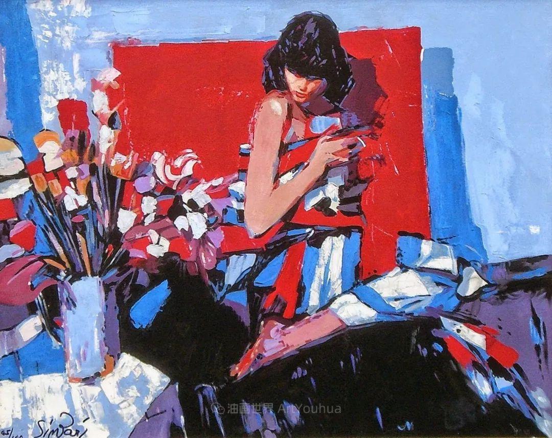 意大利画家尼古拉·辛巴里作品: 色块之美插图39