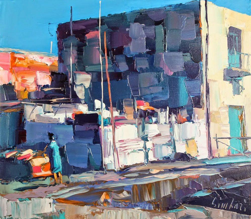 意大利画家尼古拉·辛巴里作品: 色块之美插图41