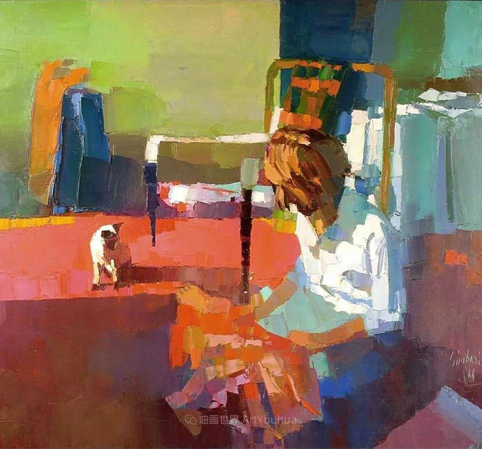 意大利画家尼古拉·辛巴里作品: 色块之美插图47