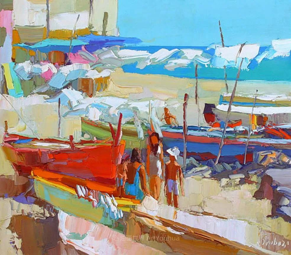 意大利画家尼古拉·辛巴里作品: 色块之美插图49
