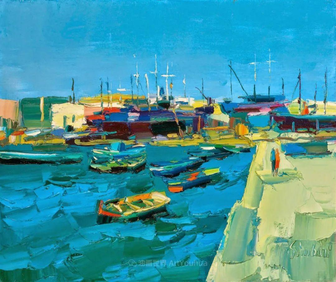 意大利画家尼古拉·辛巴里作品: 色块之美插图53
