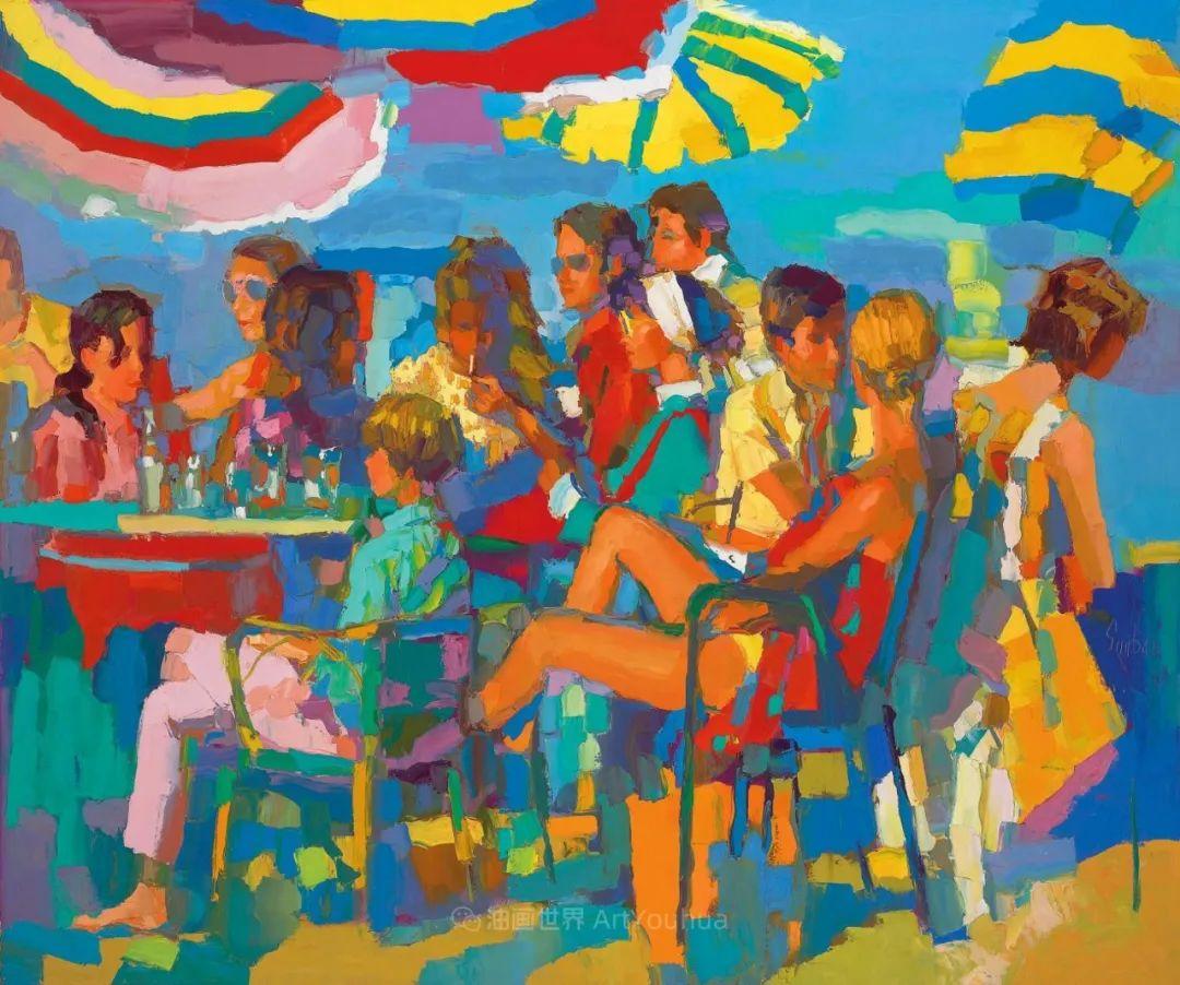 意大利画家尼古拉·辛巴里作品: 色块之美插图57