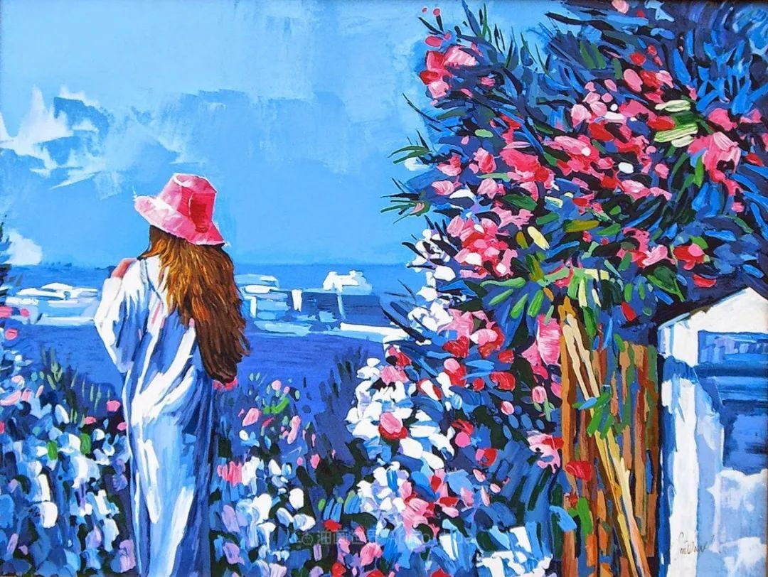 意大利画家尼古拉·辛巴里作品: 色块之美插图61