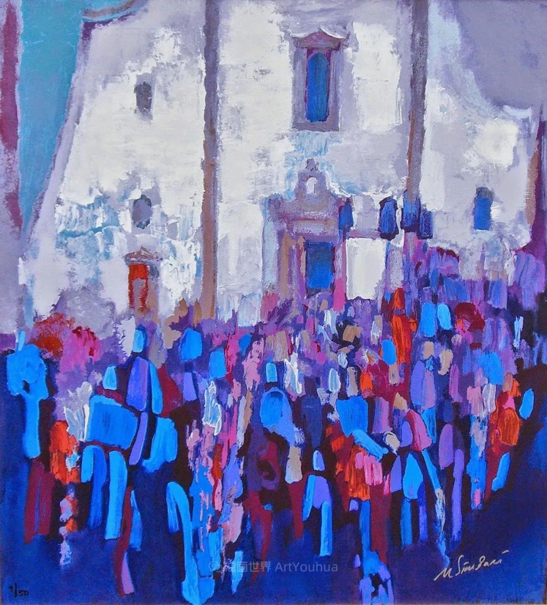 意大利画家尼古拉·辛巴里作品: 色块之美插图63