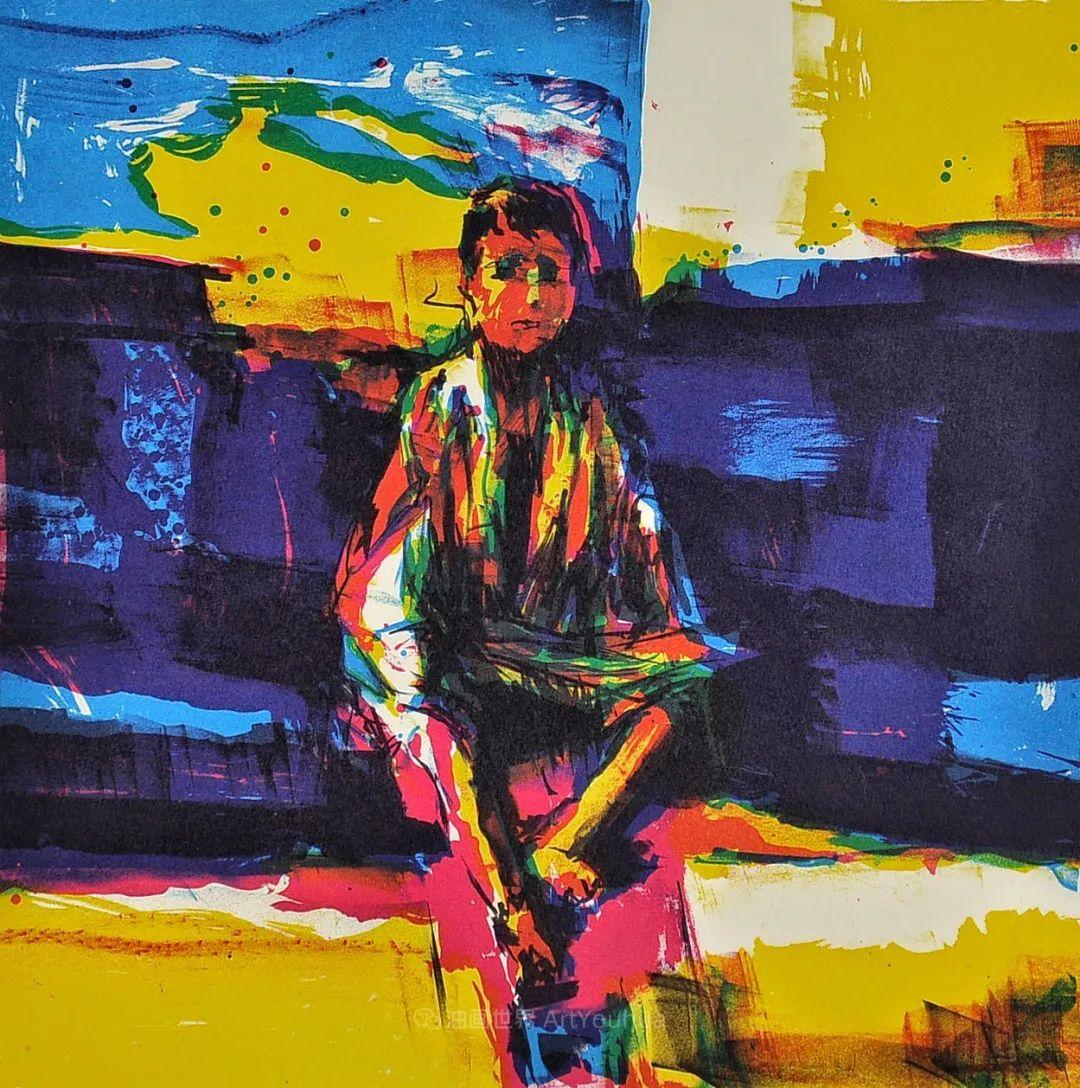 意大利画家尼古拉·辛巴里作品: 色块之美插图69