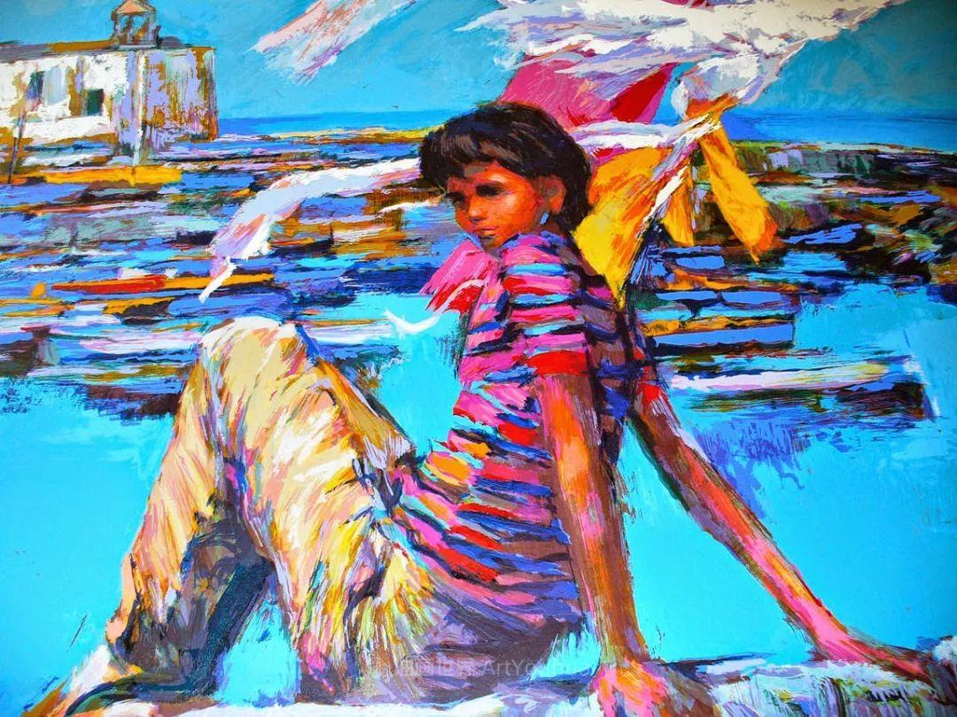 意大利画家尼古拉·辛巴里作品: 色块之美插图73