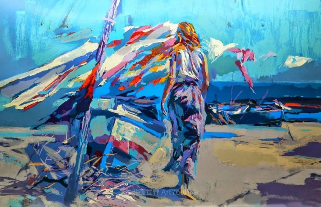 意大利画家尼古拉·辛巴里作品: 色块之美插图75