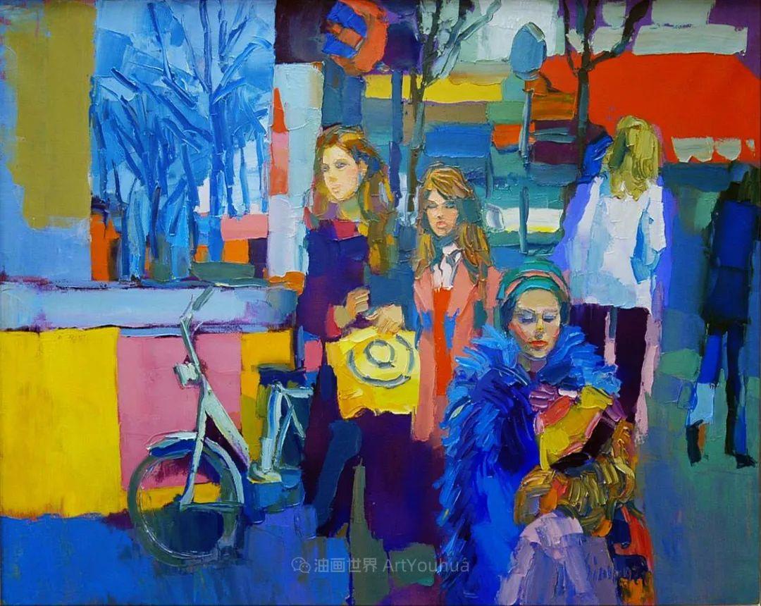意大利画家尼古拉·辛巴里作品: 色块之美插图77