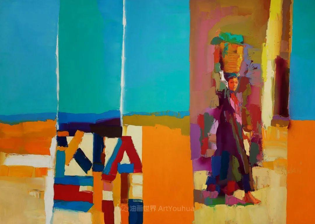 意大利画家尼古拉·辛巴里作品: 色块之美插图79