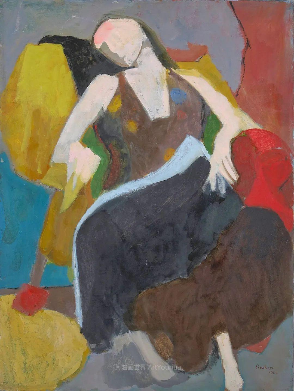 意大利画家尼古拉·辛巴里作品: 色块之美插图81