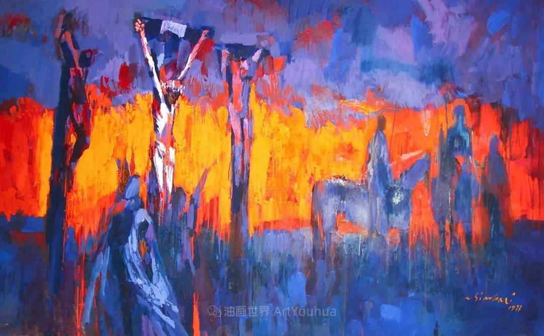 意大利画家尼古拉·辛巴里作品: 色块之美插图83