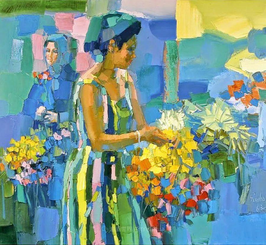 意大利画家尼古拉·辛巴里作品: 色块之美插图85
