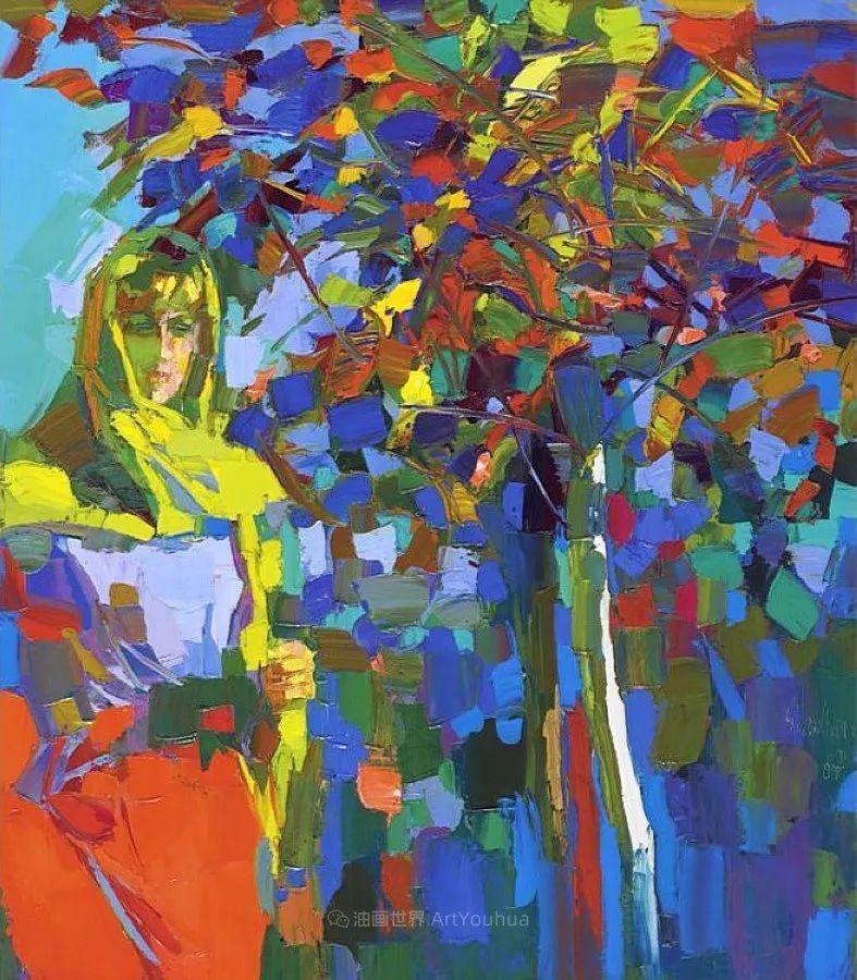 意大利画家尼古拉·辛巴里作品: 色块之美插图87