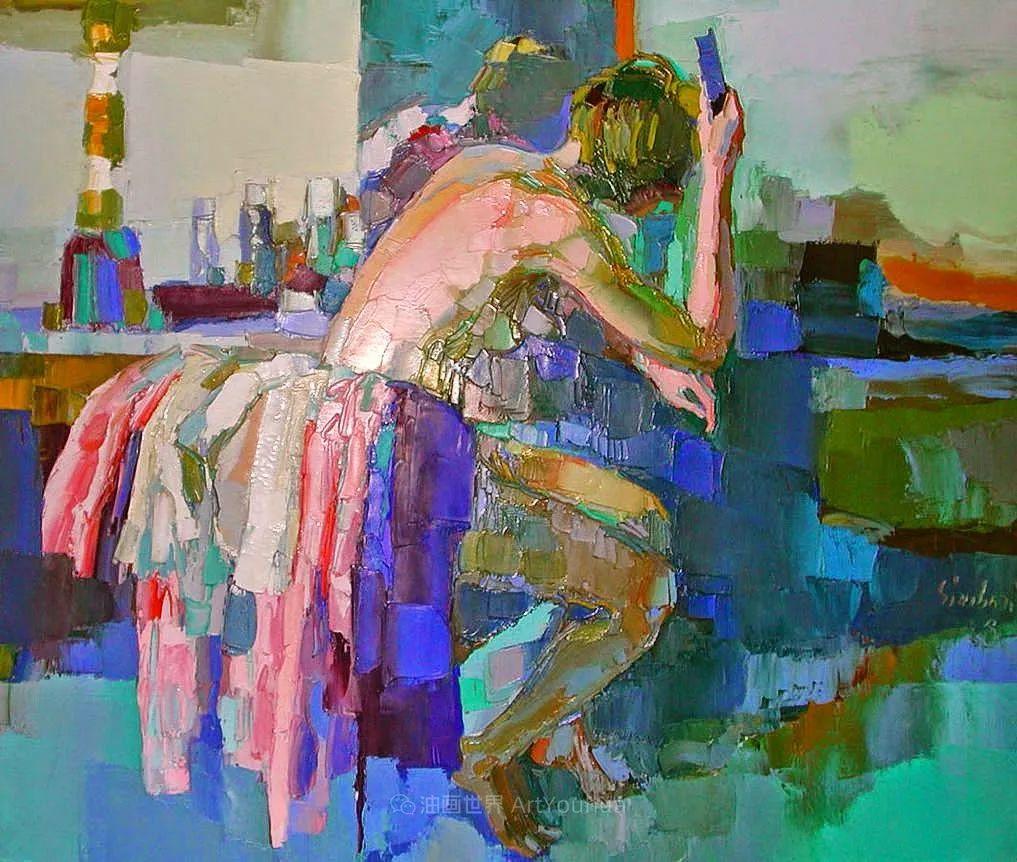 意大利画家尼古拉·辛巴里作品: 色块之美插图89