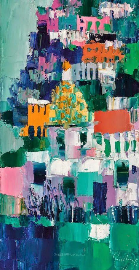 意大利画家尼古拉·辛巴里作品: 色块之美插图91