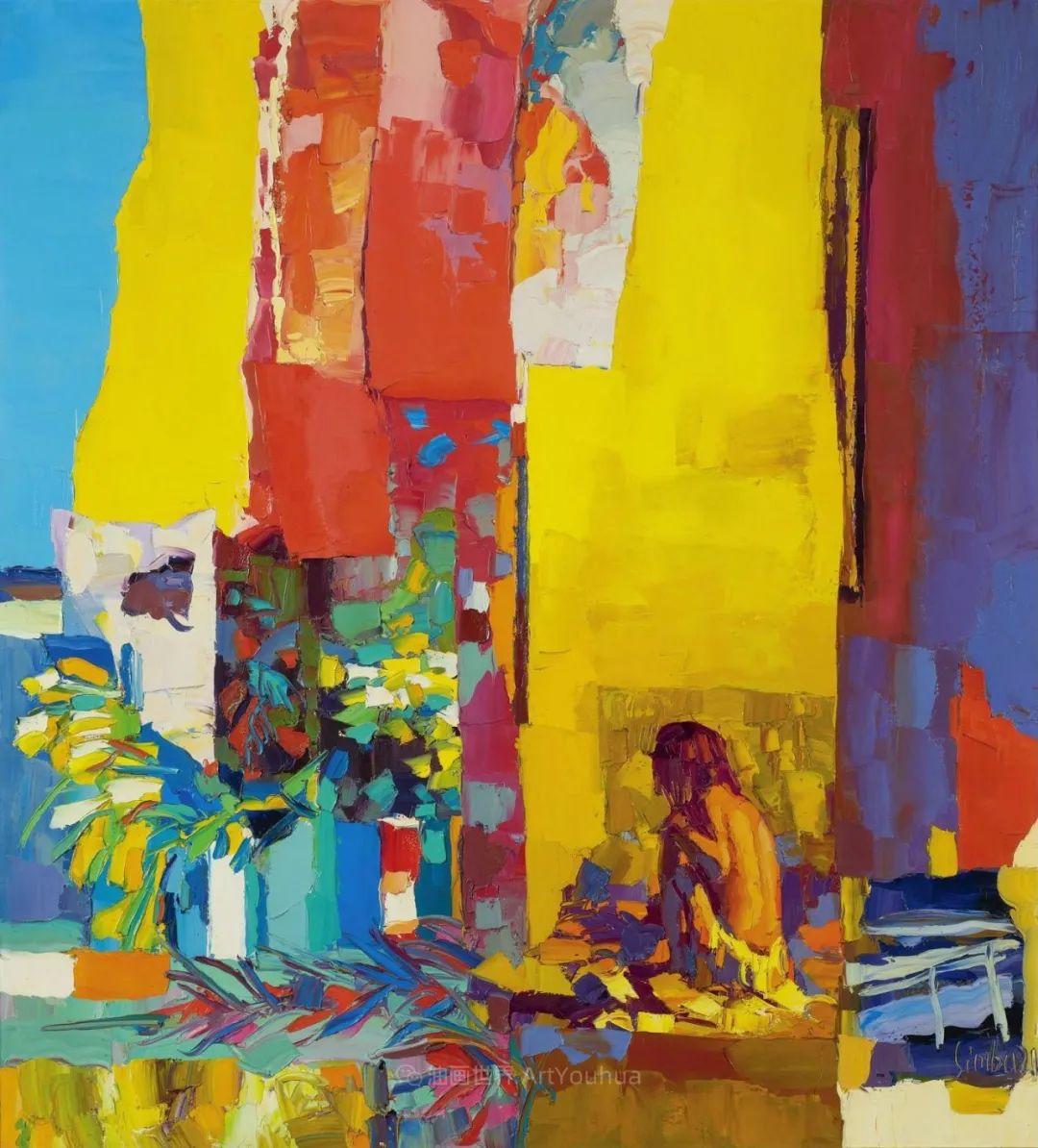 意大利画家尼古拉·辛巴里作品: 色块之美插图93