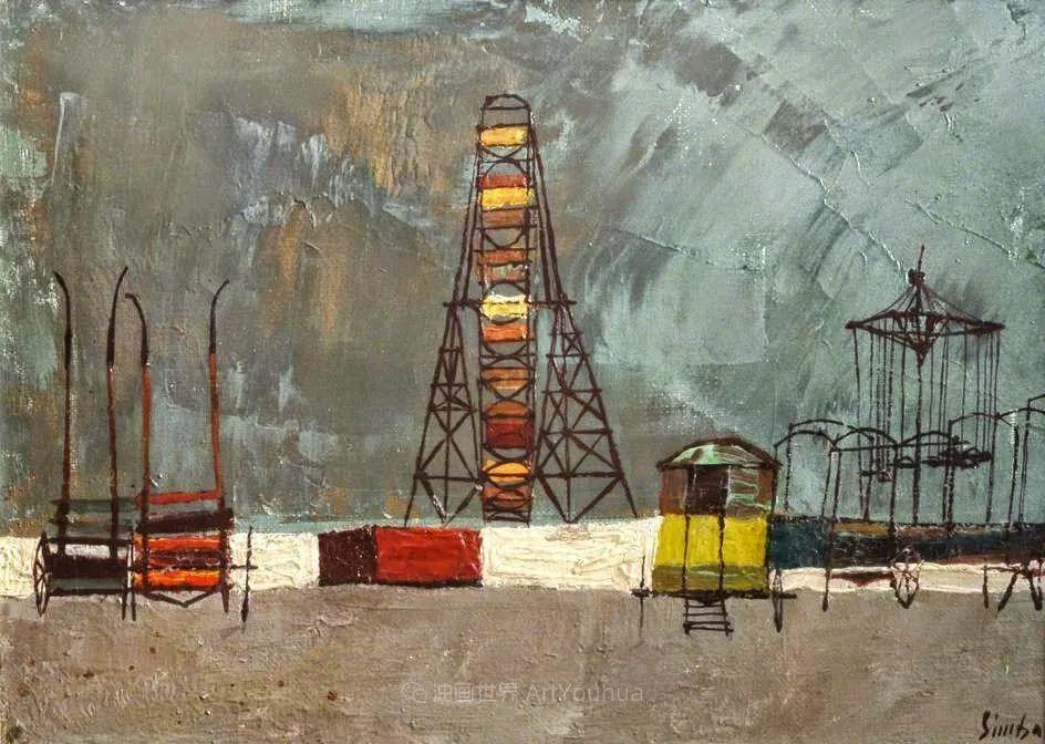 意大利画家尼古拉·辛巴里作品: 色块之美插图105