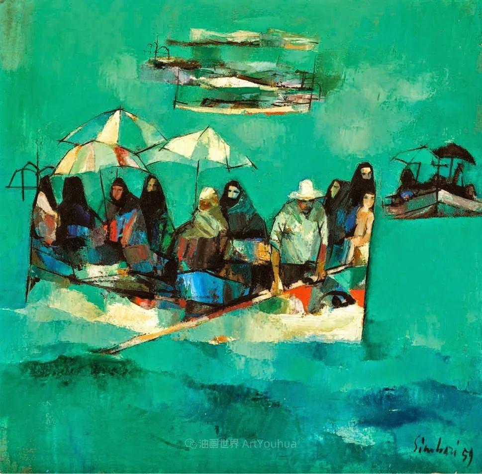 意大利画家尼古拉·辛巴里作品: 色块之美插图107