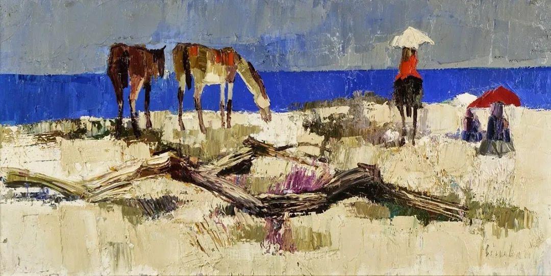 意大利画家尼古拉·辛巴里作品: 色块之美插图111