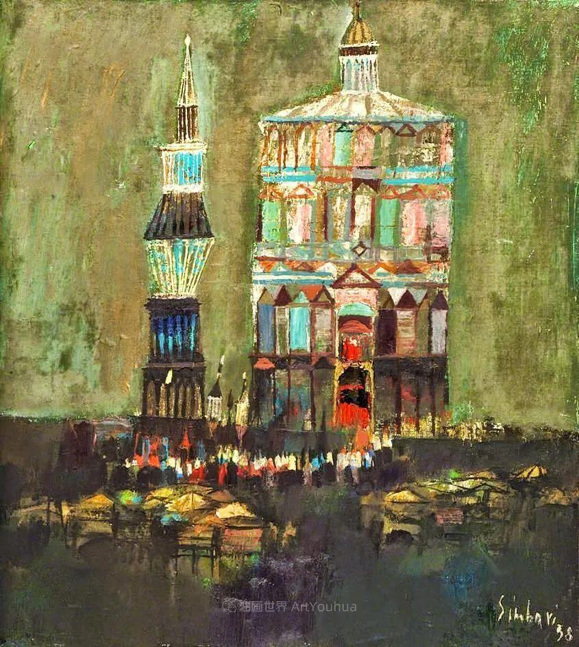 意大利画家尼古拉·辛巴里作品: 色块之美插图113