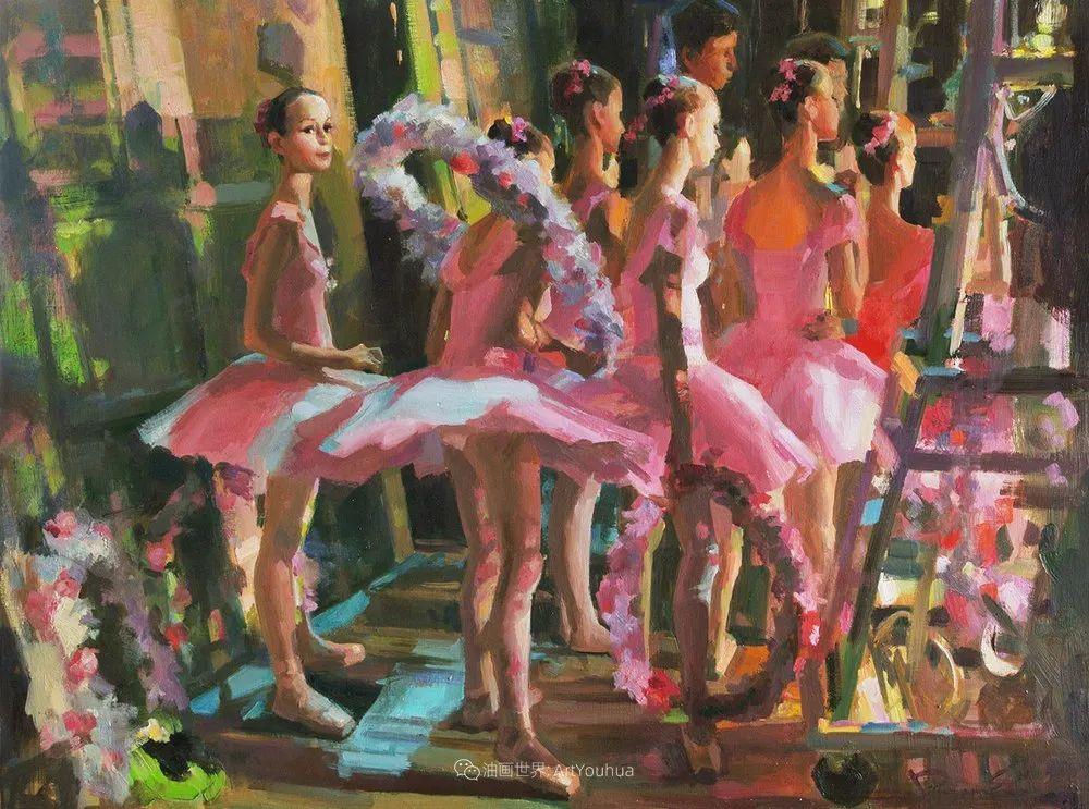 轻盈优雅的芭蕾舞插图97