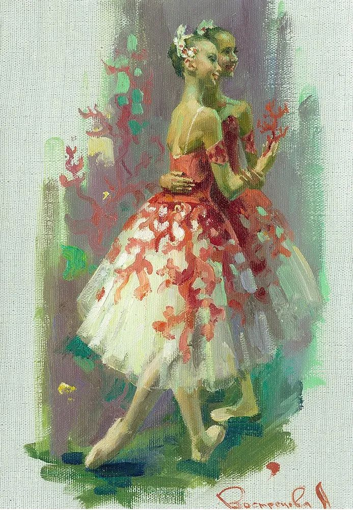 轻盈优雅的芭蕾舞插图141