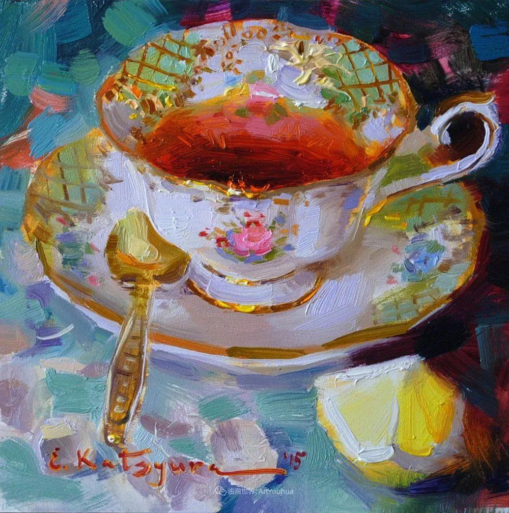 晶莹剔透的水果与茶具,让人眼前一亮!插图17