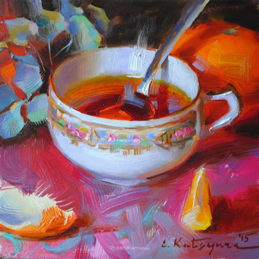 晶莹剔透的水果与茶具,让人眼前一亮!插图19