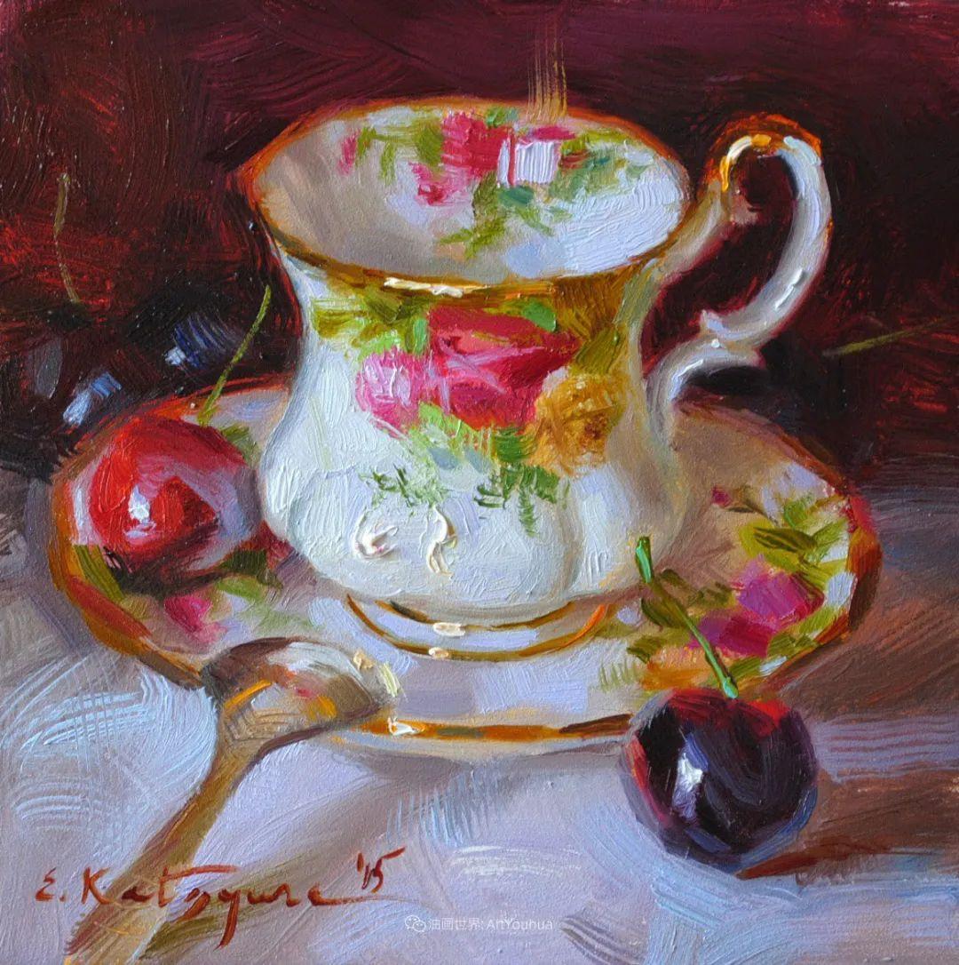 晶莹剔透的水果与茶具,让人眼前一亮!插图35