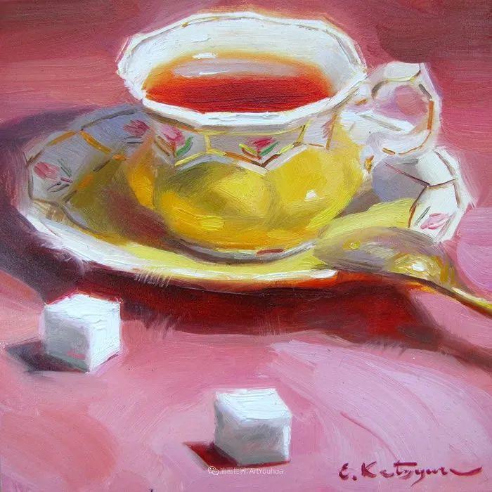 晶莹剔透的水果与茶具,让人眼前一亮!插图59