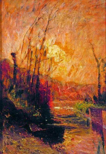 他以颜色作曲,大胆的色彩,超越了风景类型的界限!插图19