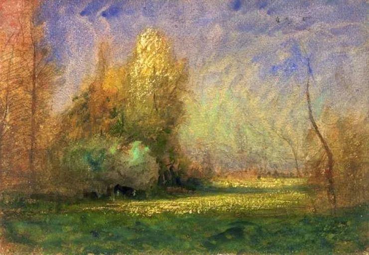 他以颜色作曲,大胆的色彩,超越了风景类型的界限!插图21