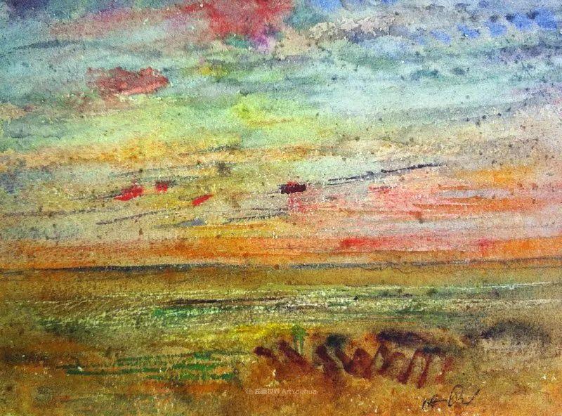 他以颜色作曲,大胆的色彩,超越了风景类型的界限!插图23
