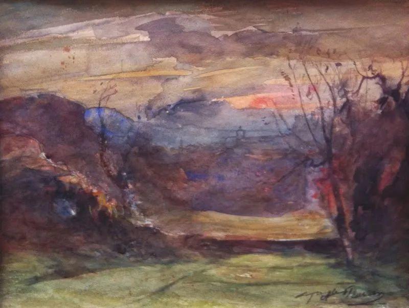 他以颜色作曲,大胆的色彩,超越了风景类型的界限!插图24