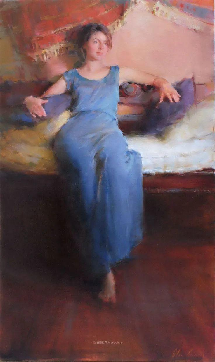 富有表现力的笔触,乌克兰女画家奥尔加·克里蒙插图1