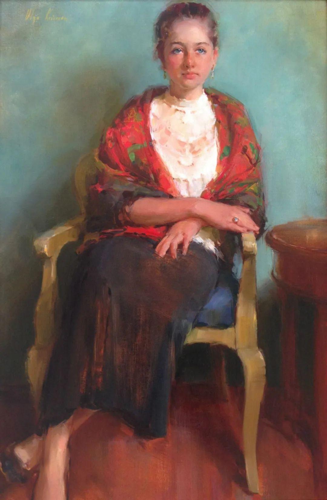 富有表现力的笔触,乌克兰女画家奥尔加·克里蒙插图5