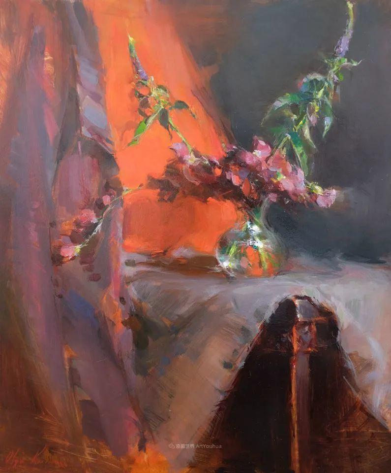 富有表现力的笔触,乌克兰女画家奥尔加·克里蒙插图9