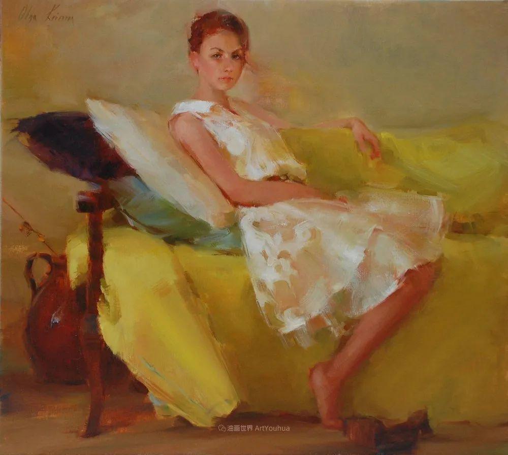 富有表现力的笔触,乌克兰女画家奥尔加·克里蒙插图17