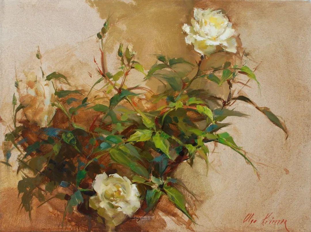 富有表现力的笔触,乌克兰女画家奥尔加·克里蒙插图23