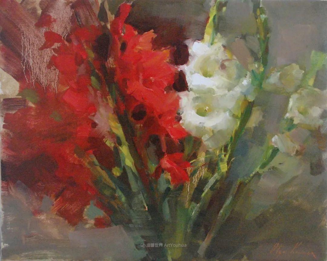 富有表现力的笔触,乌克兰女画家奥尔加·克里蒙插图29