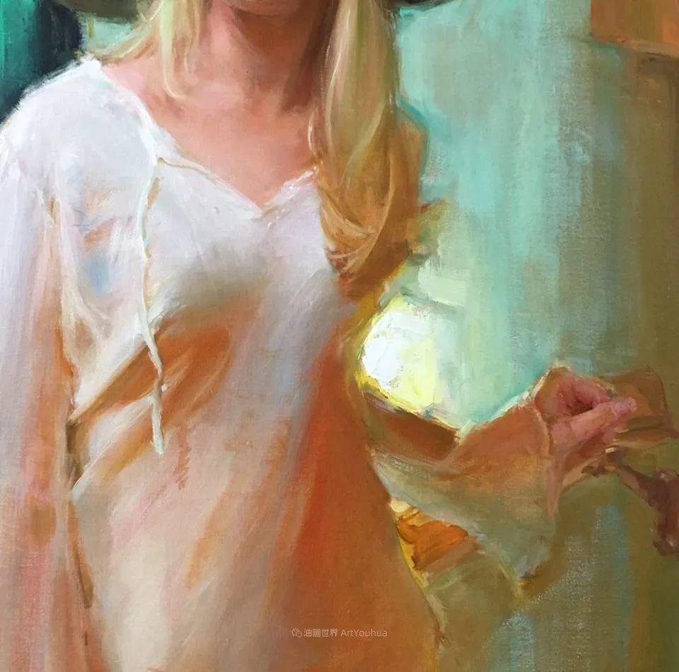 富有表现力的笔触,乌克兰女画家奥尔加·克里蒙插图43