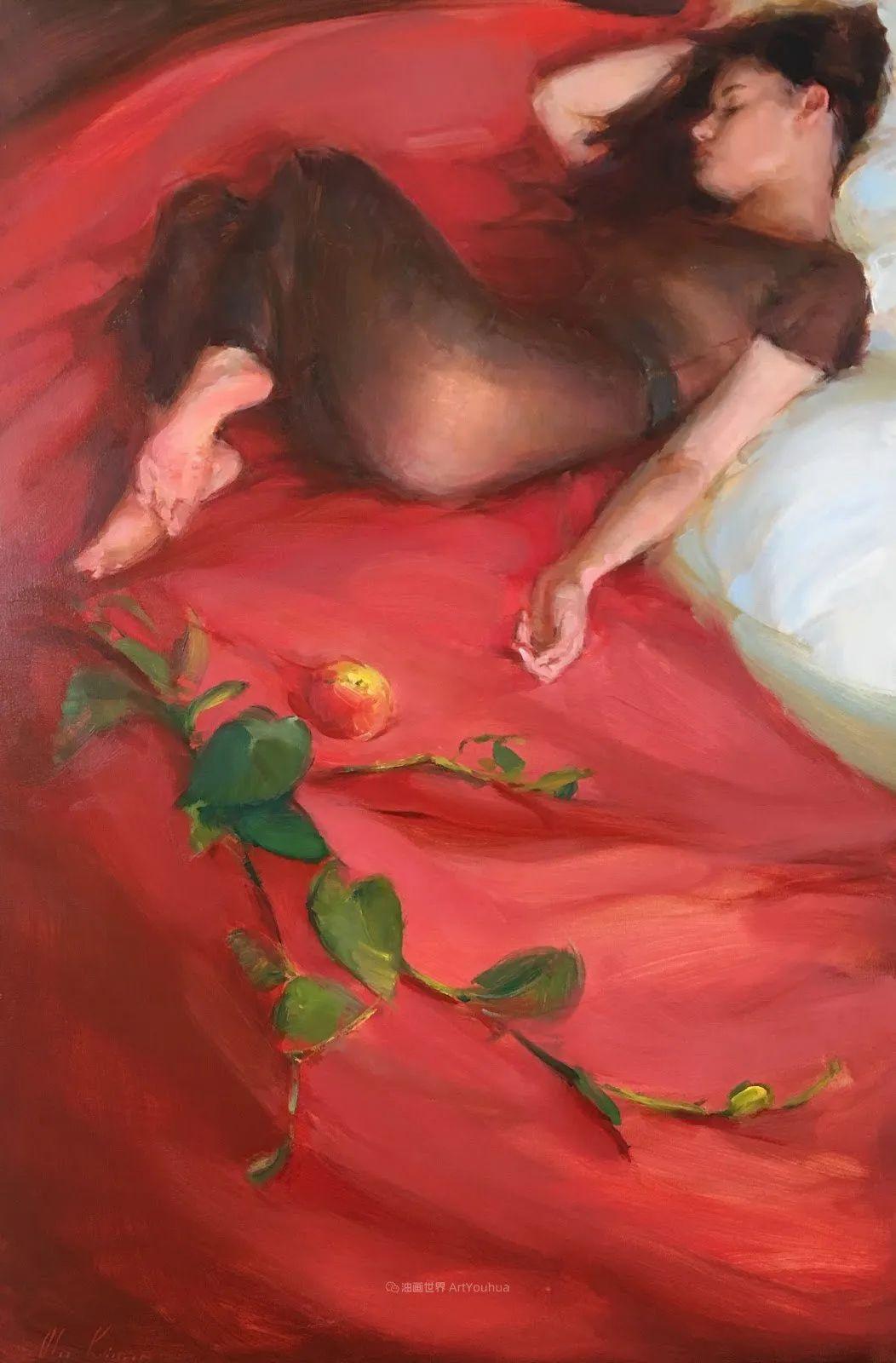 富有表现力的笔触,乌克兰女画家奥尔加·克里蒙插图45