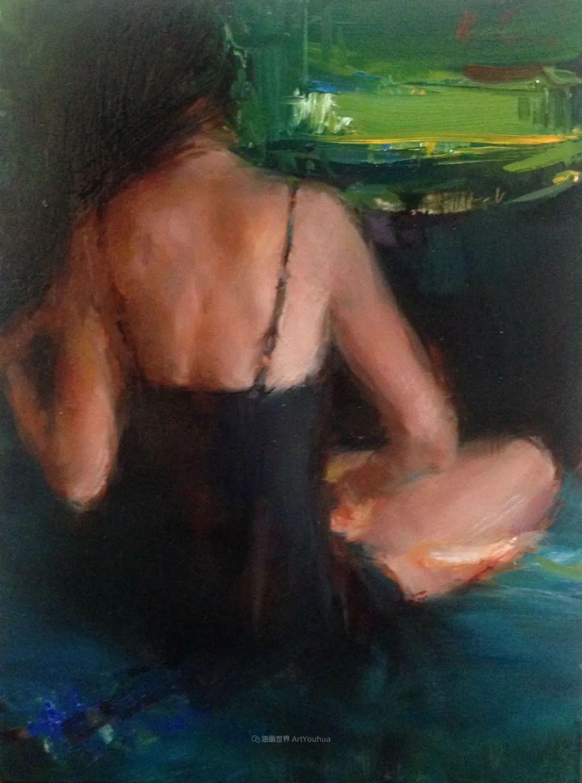 富有表现力的笔触,乌克兰女画家奥尔加·克里蒙插图63