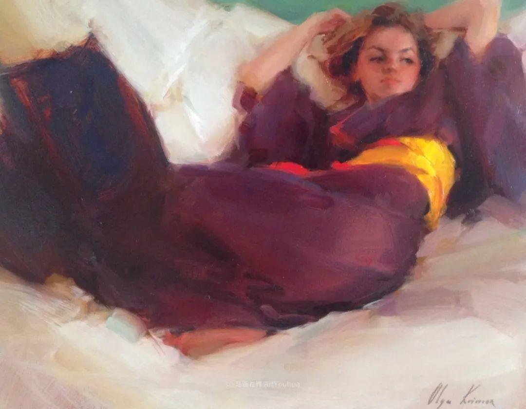 富有表现力的笔触,乌克兰女画家奥尔加·克里蒙插图69