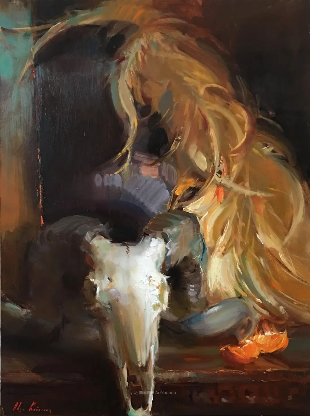 富有表现力的笔触,乌克兰女画家奥尔加·克里蒙插图71