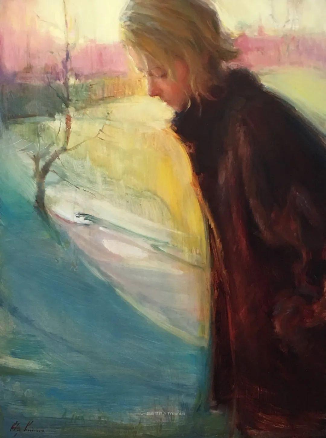 富有表现力的笔触,乌克兰女画家奥尔加·克里蒙插图75