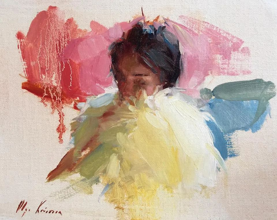 富有表现力的笔触,乌克兰女画家奥尔加·克里蒙插图79